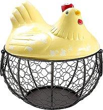 Kaxofang Egg Basket,Eggs Holder Basket, Organizer