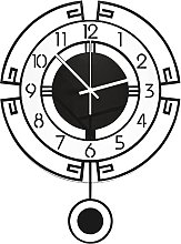 Kaxofang Modern Wall Clock,Silent Movement Clock