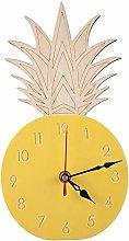 Kaxofang Pineapple Wall Clocks Children'S Room