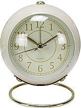 Kaxofang Small Table Clocks, Non-Ticking Quartz