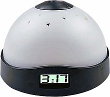 Kaxofang Star Digital Projection Alarm Clock With