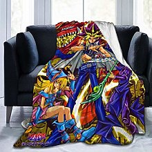 Kay Sam Yu-Gi-Oh Super Soft Warm Faux Fur Throw