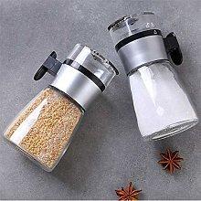 KAYBELE Push-type Salt Dispenser Spice Shaker salt