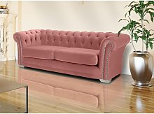 Kaylie 3 Seater Chesterfield Sofa Willa Arlo