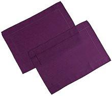 Kaylin Placemats Marlow Home Co. Colour: Purple
