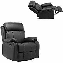 Kays Single Recliner Sofa PU Leather Armchair