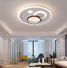 KBEST 48W Modern LED Ceiling Lamp, Round Creative