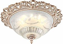 KBEST Country Style Ceiling Lighting Lamp Glass
