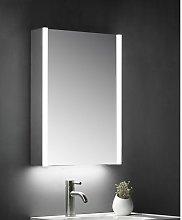 KBM-101 LED Bathroom Mirror Cabinet With Shaver