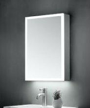 KBM-102 LED Bathroom Mirror Cabinet With Shaver
