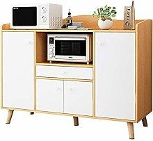 KCCCC Sideboard Cabinet Buffet Sideboard Serving