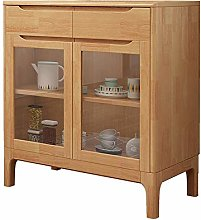 KCCCC Sideboard Cabinet Wood Accent Buffet