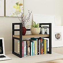 KCCCC Wood Mini Desk Shelves Display Shelf Desk