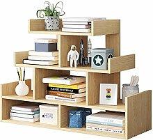 KCCCC Wood Mini Desk Shelves Display Shelf Desktop
