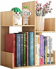 KCCCC Wood Mini Desk Shelves Display Shelf Rack