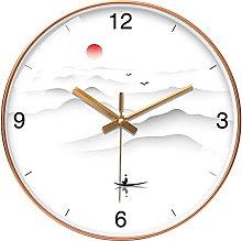 KCOLC 8 Inch 20Cm Wall Clock Living Room Simple