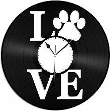 KDBWYC Clock vinyl wall clock souvenir gift for