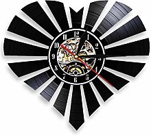 KDBWYC Retro record favorite vinyl wall clock with