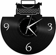 KDBWYC Writer clock vinyl wall clock unique gift
