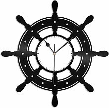 KDBWYC Yacht vinyl wall clock unique gift for
