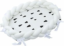 kdjsic Baby Nest Bed Travel Crib Soft Breathable