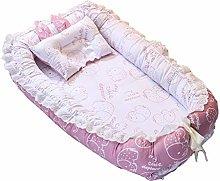 kdjsic Portable Baby Bed Infant Travel Sleep Nest