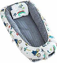 kdjsic Portable Baby Sleep Nest Bed Crib Travel