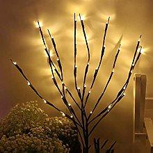 KDMB LED Bike Lights,20 Bulbs LED Willow Branch