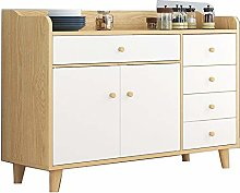 KDOAE Side Cabinet Buffet Sideboard,Wood Storage