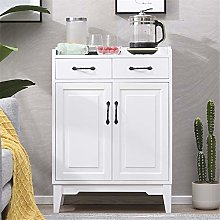 KDOAE Side Cabinet Wood Accent Buffet Sideboard