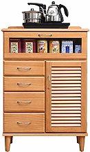 KDOAE Side Cabinet Wood Accent Kitchen Buffet