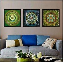 KDSMFA Living Room Canvas Indian Mandala Painting