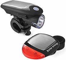 Kdyi Solar Energy Rechargeable Bike Lights