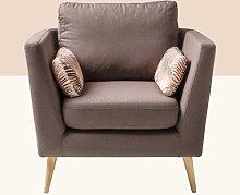 Keagan Armchair Hykkon Upholstery Colour: Dark Grey