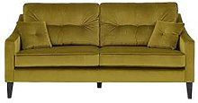 Keaton Fabric 3 Seater Sofa