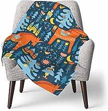 keben baby blanket Baby Blanket,Fairy Tale in Blue