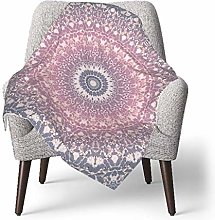 keben baby blanket Baby Blanket,Gray Pink Mandala