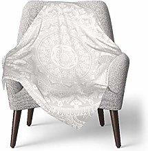 keben baby blanket Baby Blanket,Mandala Soft Gray