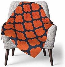 keben baby blanket Baby Blanket,Navy and Orange