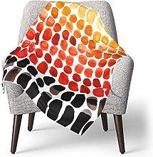 keben baby blanket Baby Blanket,Red Orange Yellow