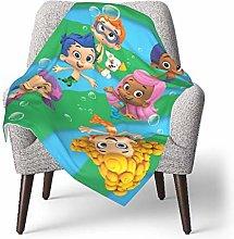 keben baby blanket Bubble Blanket Guppies Baby