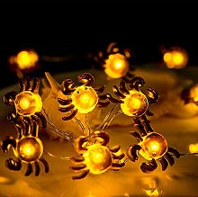 KEEDA 30LED Crab Copper Wire Fairy String Lights