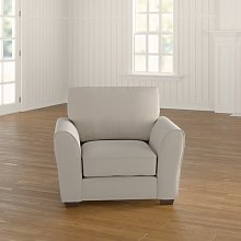 Keene Armchair ClassicLiving Upholstery: Cream