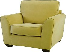 Keene Armchair ClassicLiving Upholstery: Olive