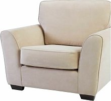 Keene Armchair ClassicLiving Upholstery: Silver