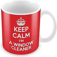 KEEP CALM I'm a Window Cleaner Man MUG Coffee