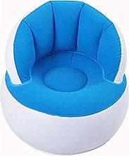 Keepbest Inflatable Sofa Kids Flocking Chair Pouf