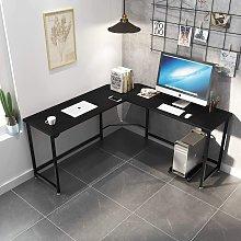 Keepbuying - L-Shape Corner Gaming Work Desk Table