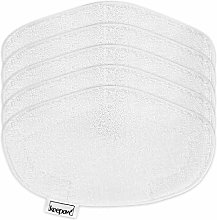 KEEPOW 5 Washable Steam Mop Pads Replacement for