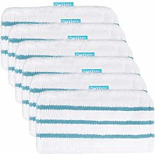KEEPOW 6 Pack Microfibre Replacement Cleaning Pads